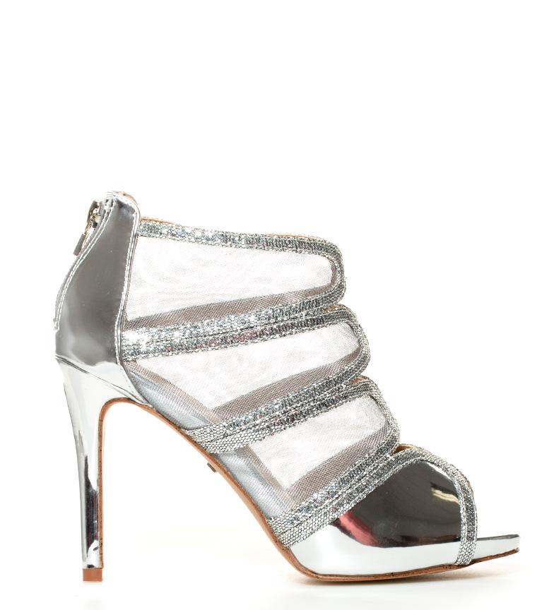 Kay Altura tacón MARIAMARE 11cm Zapatos Kay plateado plateado MARIAMARE Zapatos br br w7qExxFAz