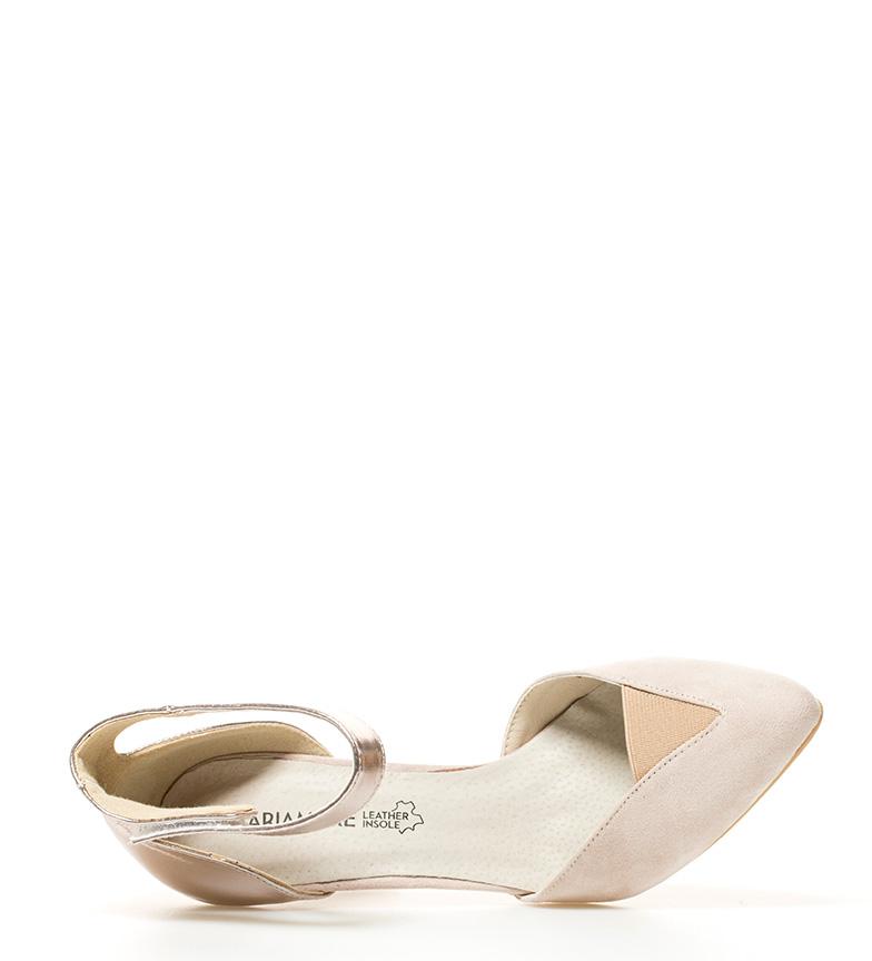 Zapatos br br 5cm 10 bronce Altura beige MARIAMARE tacón Nicla wIXCqad