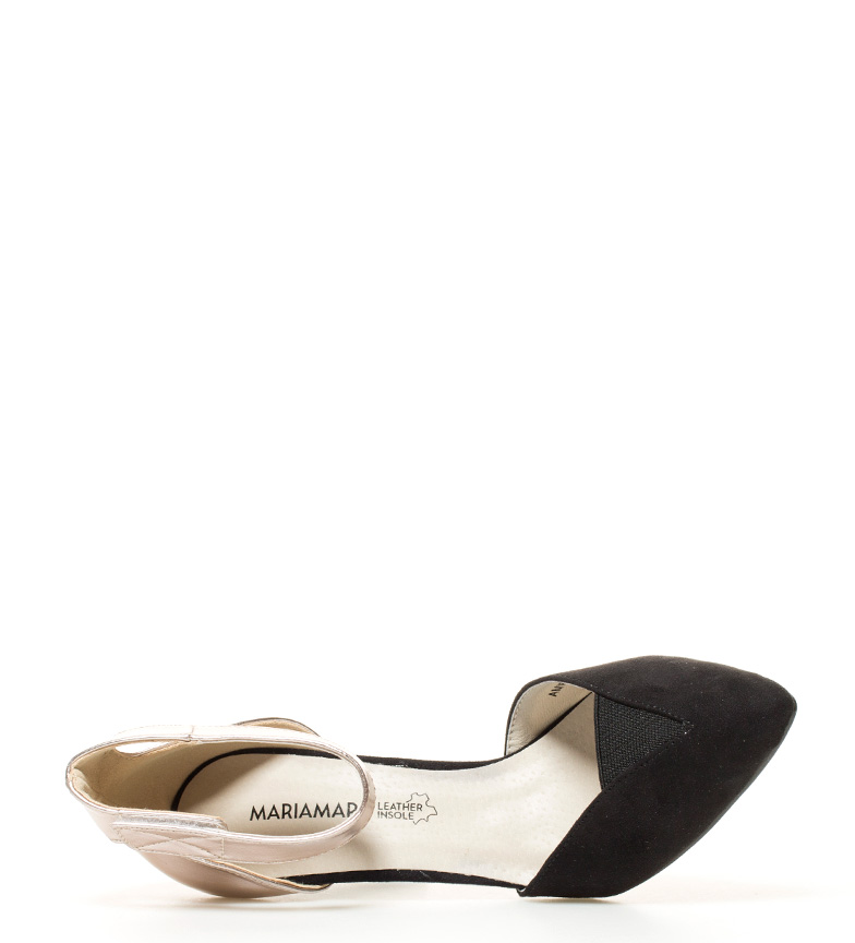 bronce tacón Altura Zapatos br 10 5cm MARIAMARE br negro Nicla 0YwRYtxq