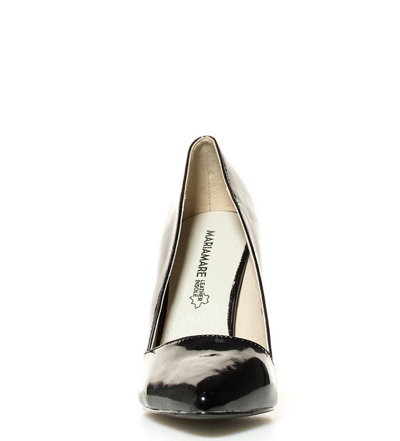 negro tacón Trixy MARIAMARE 10 5cm br br Zapatos Altura UYwwTEq