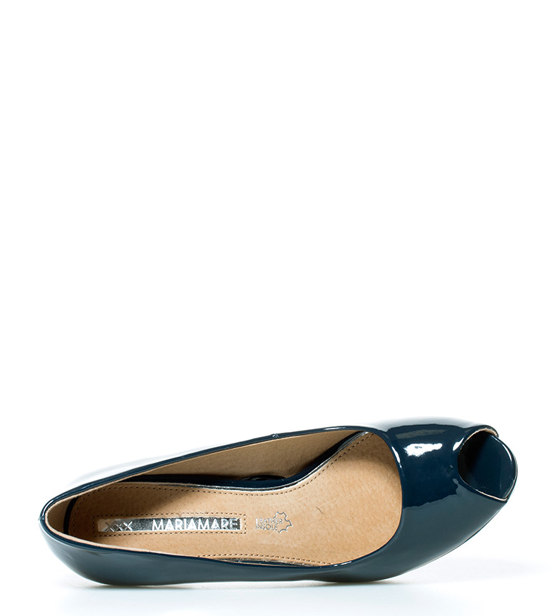 MARIAMARE Altura Vita navy br Zapatos tacón 9cm br azul FFwq1Y