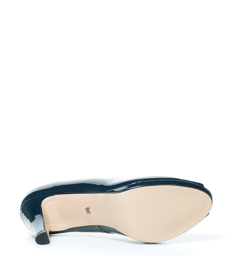 azul 9cm Zapatos tacón br navy MARIAMARE Altura Vita br REq1TZw