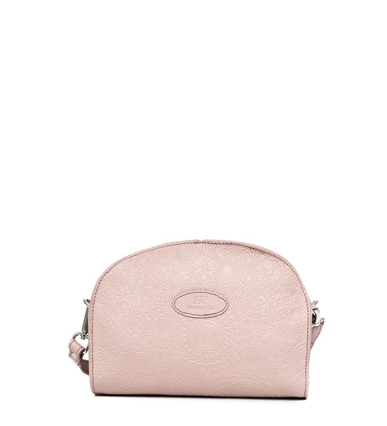 Comprar Marsan Piel Bandolera de piel 230 rosa -20x10,5x25cm-