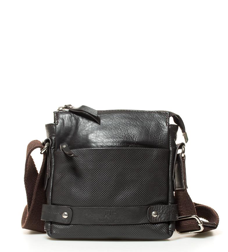 Comprar Marsan Piel 795 pelle marrone borsa a tracolla -x22,5x5cm-
