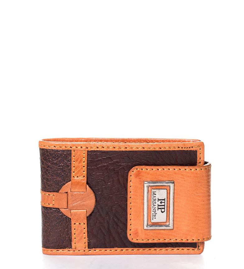 Comprar Marsan Piel Leather wallet Alonisso black-11x2,5x7,5cm-