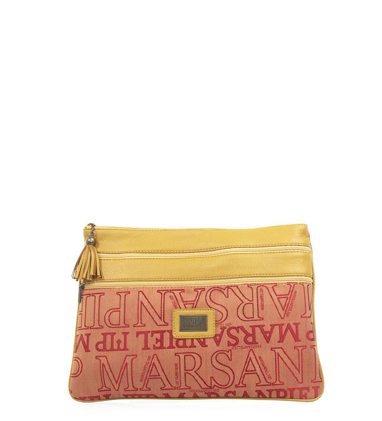 Comprar Marsan Piel Sac à main 41232 cuir, rouge -34x25cm