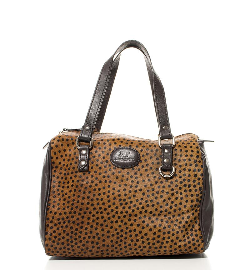 Comprar Marsan Piel Chien sac en cuir marron -30x23x18cm-