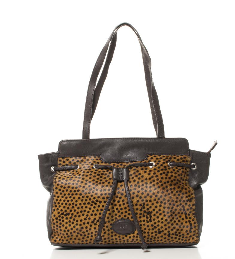 Comprar Marsan Piel Chien sac en cuir marron -34x24x9cm-
