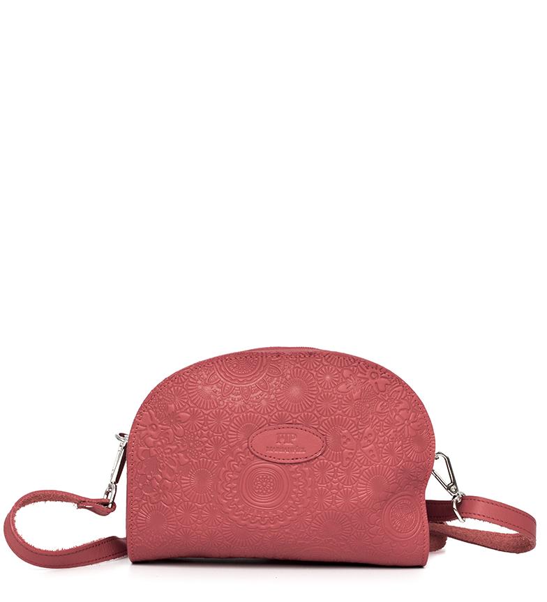Comprar Marsan Piel Bandolera de piel 230 rojo  -20x10,5x25cm-