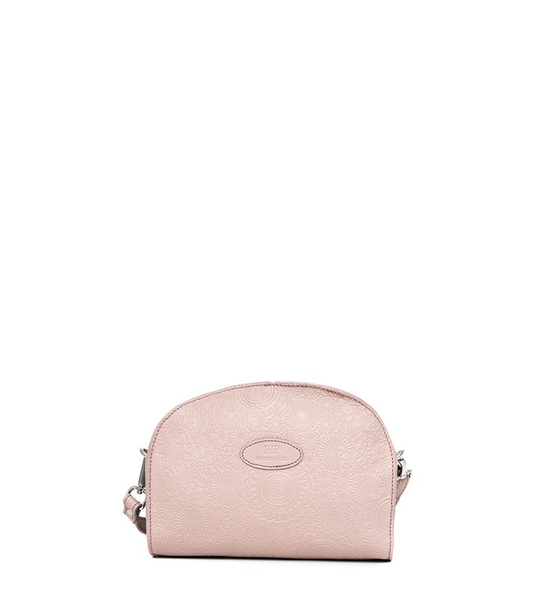 Comprar Marsan Piel Bandolera de piel 231 rosa -20x9x15cm-