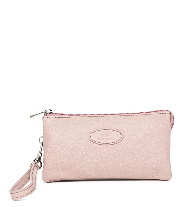 Comprar Marsan Piel Leather hand bag 232 pink -19,5x4x10,30cm