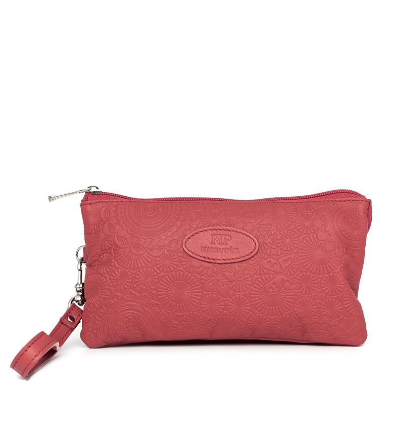 Comprar Marsan Piel Leather hand bag 232 red -19,5x4x10,30
