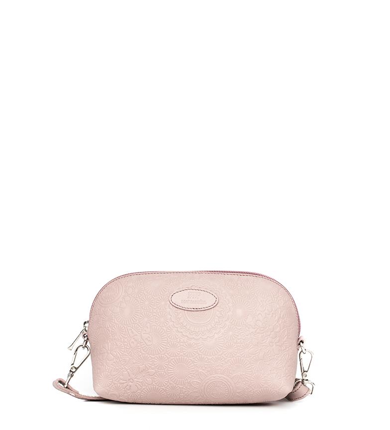Comprar Marsan Piel Leather shoulder bag 233 pink -24x8,5x13cm