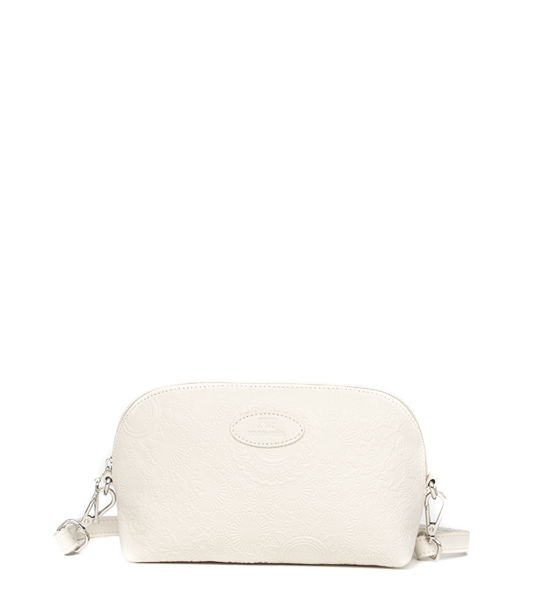 Comprar Marsan Piel Leather shoulder bag 233 beige -24x8,5x13cm