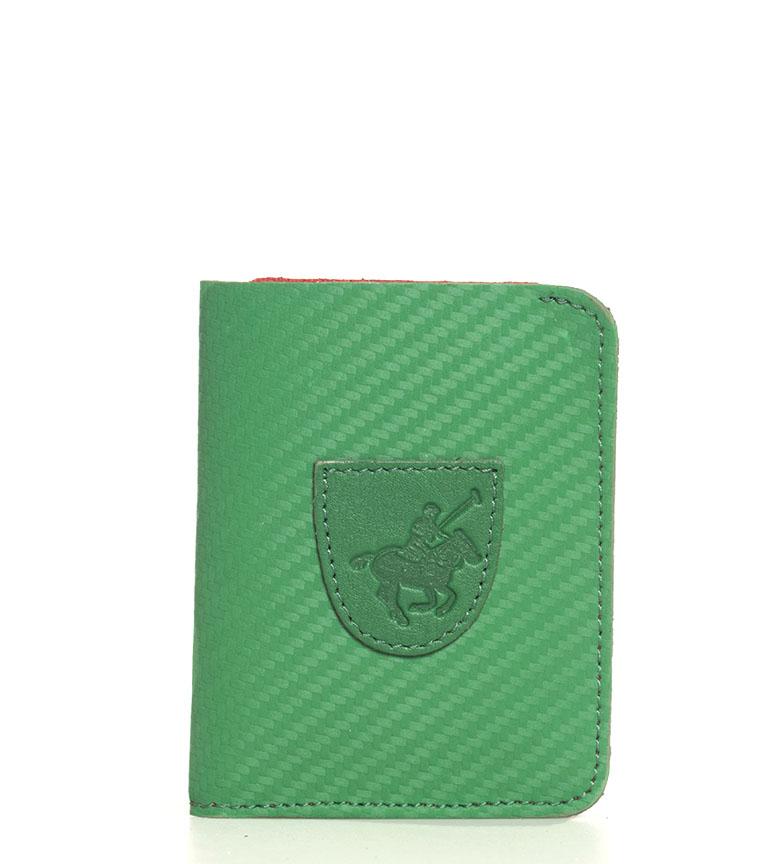 Comprar Marsan Piel Cartera de piel 5001 Marbella verde -10,5x1x8cm-