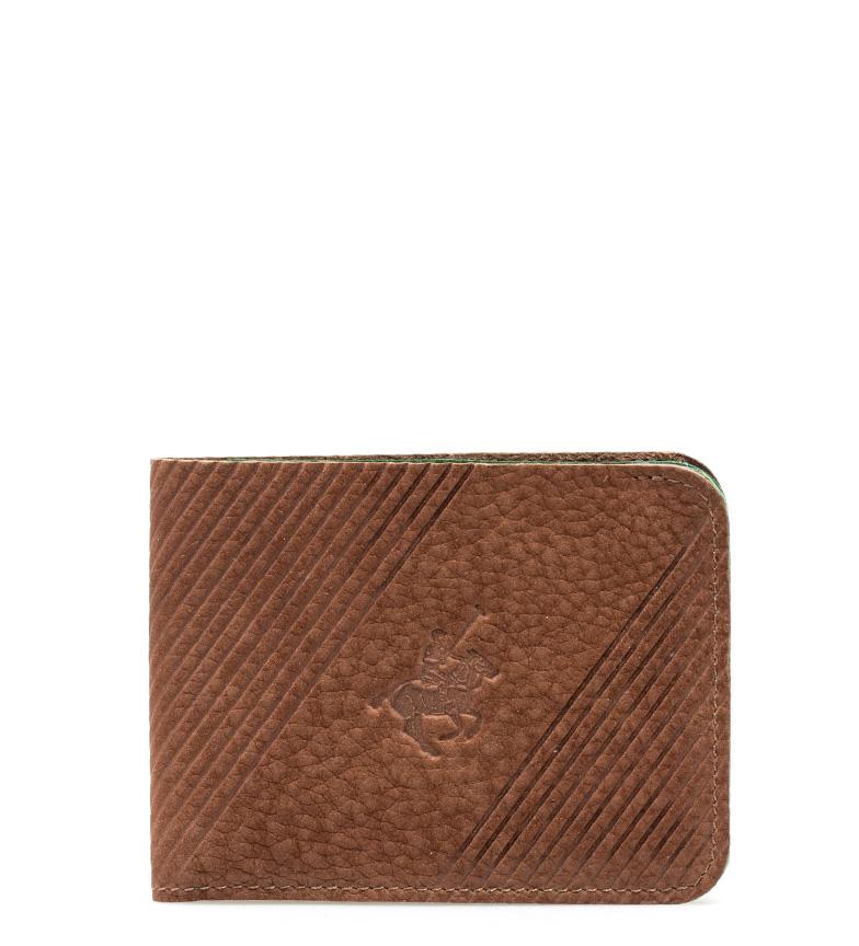 Comprar Marsan Piel Polo de couro carteira de couro -8,5x11 cm