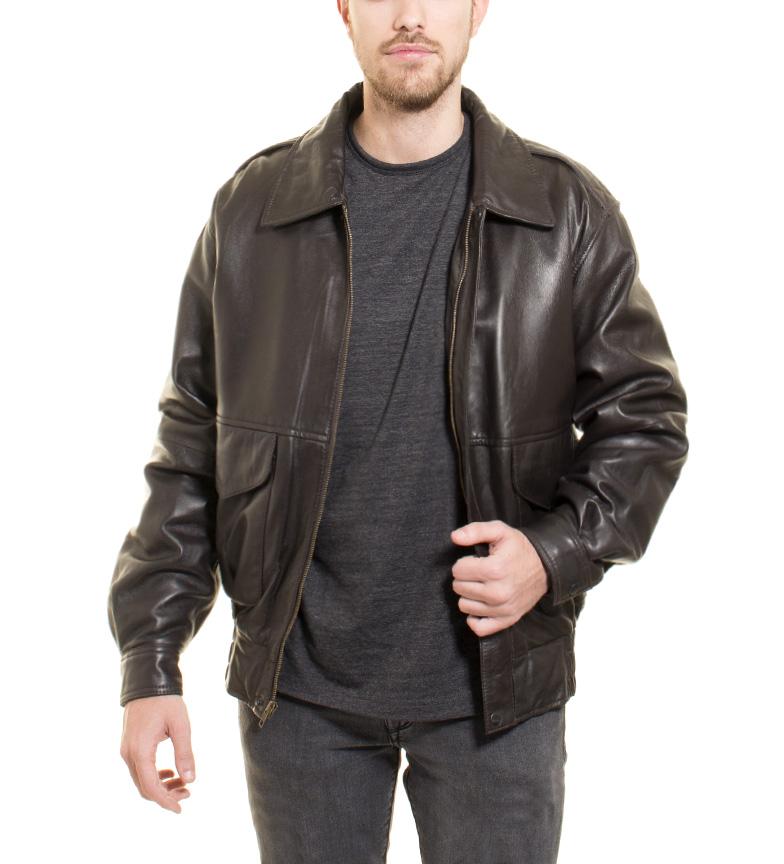 Comprar Marsan Piel Urbano giacca di pelle marrone