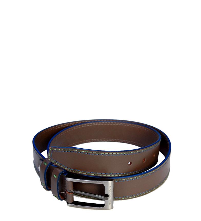 Comprar Marsan Piel Leather Belt Atakaz topo