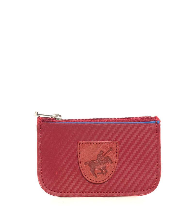 Comprar Marsan Piel Bolsa de couro 5005 Marbella vermelho -7x0.3x11cm-