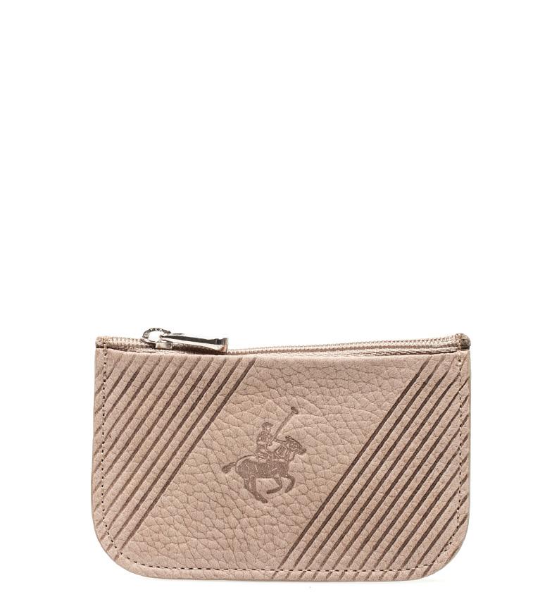Comprar Marsan Piel Bolsa de couro bege Pole -7x11 cm