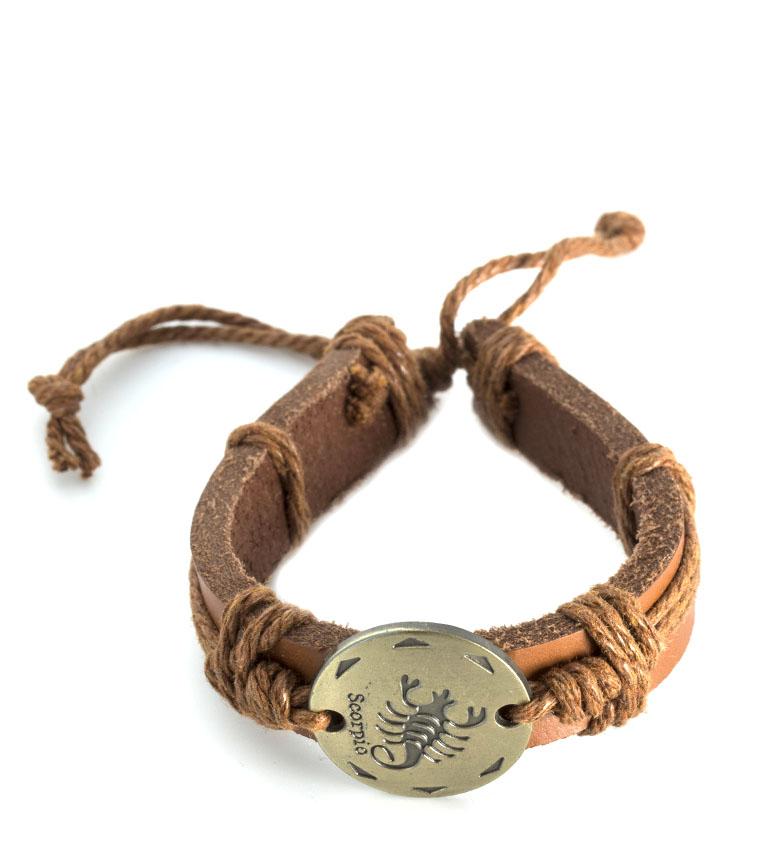 Comprar Marsan Piel Leather bracelet Scorpio leather
