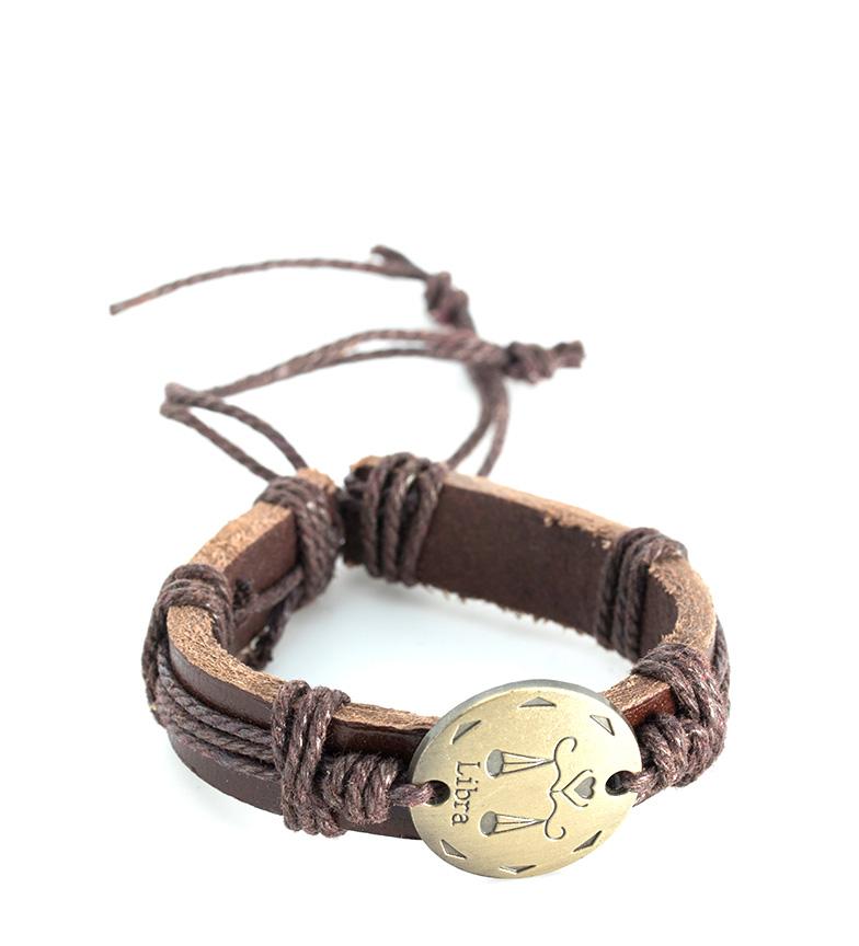Comprar Marsan Piel Leather Bracelet Libra brown