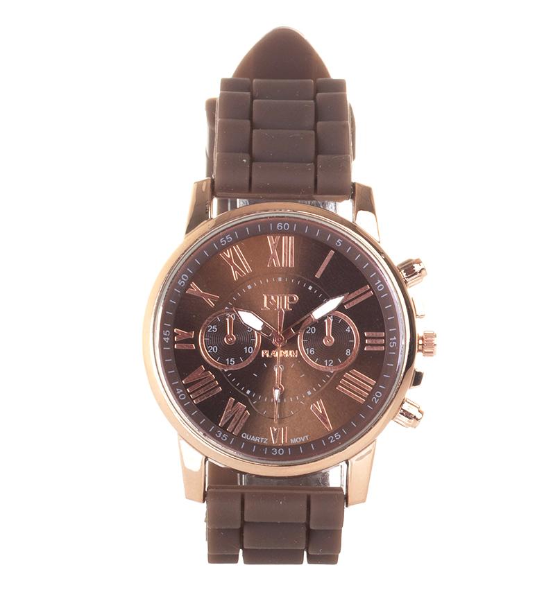 Comprar Marsan Piel Relógio analógico 9921 castanho