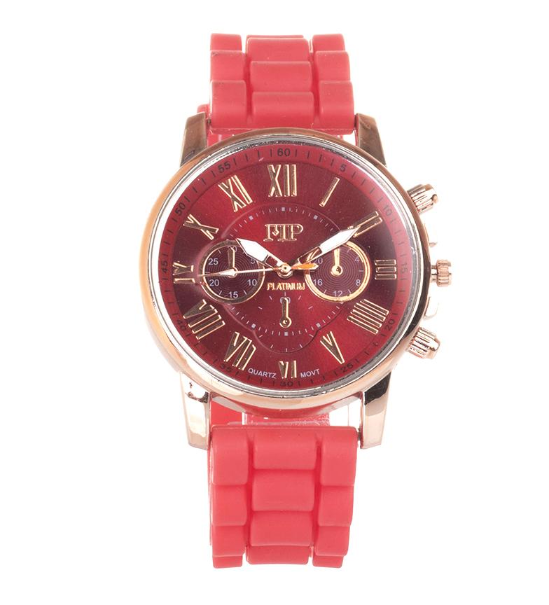 Comprar Marsan Piel Relógio analógico 9921 vermelho