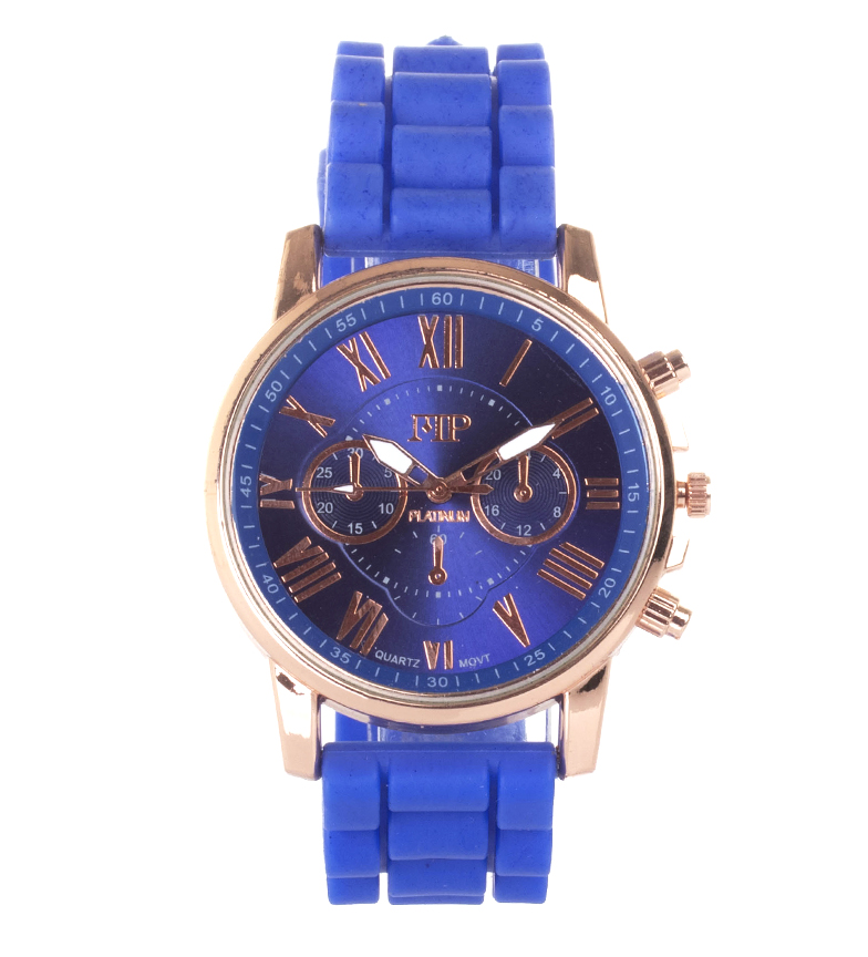 Comprar Marsan Piel Reloj analógico 9921 azul
