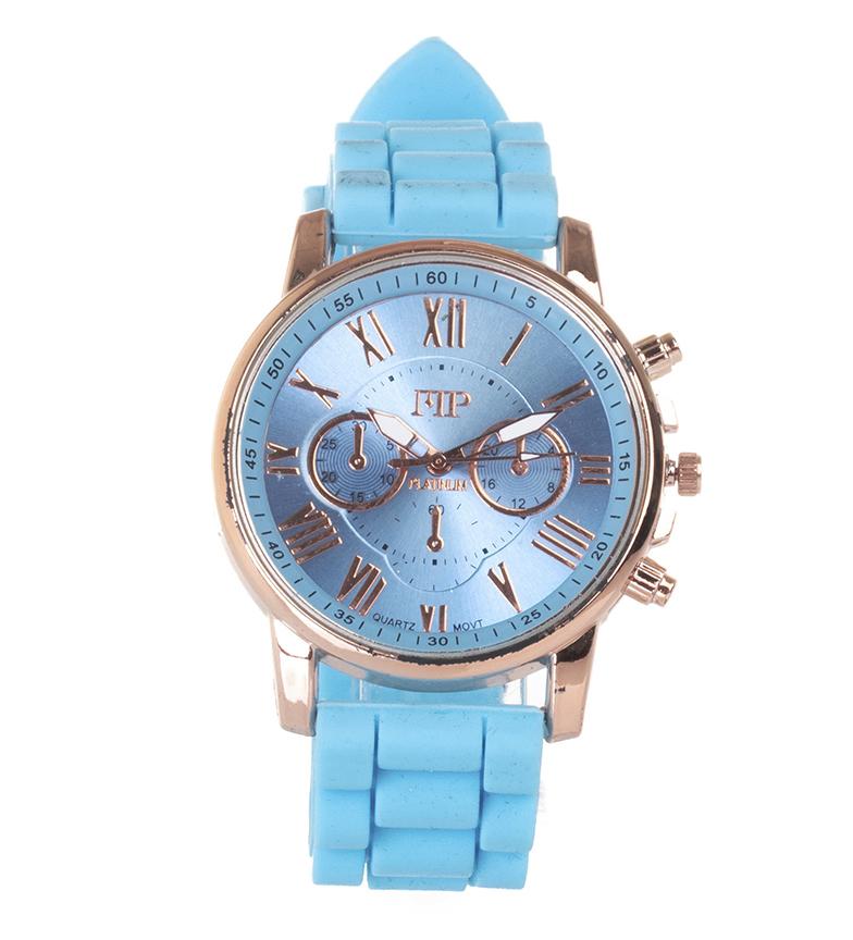 Comprar Marsan Piel Relógio analógico 9921 azul claro
