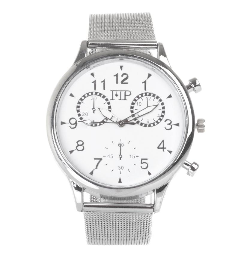 Comprar Marsan Piel Orologio analogico 9966 argento, bianco