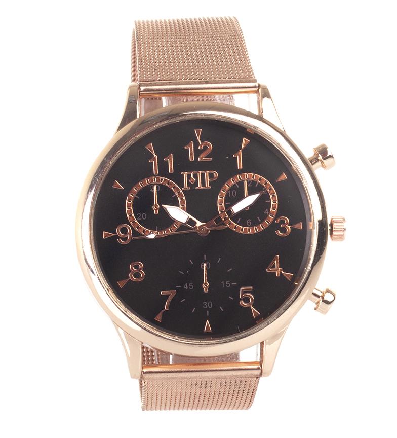 Comprar Marsan Piel Relógio analógico 9966 cobre, preto