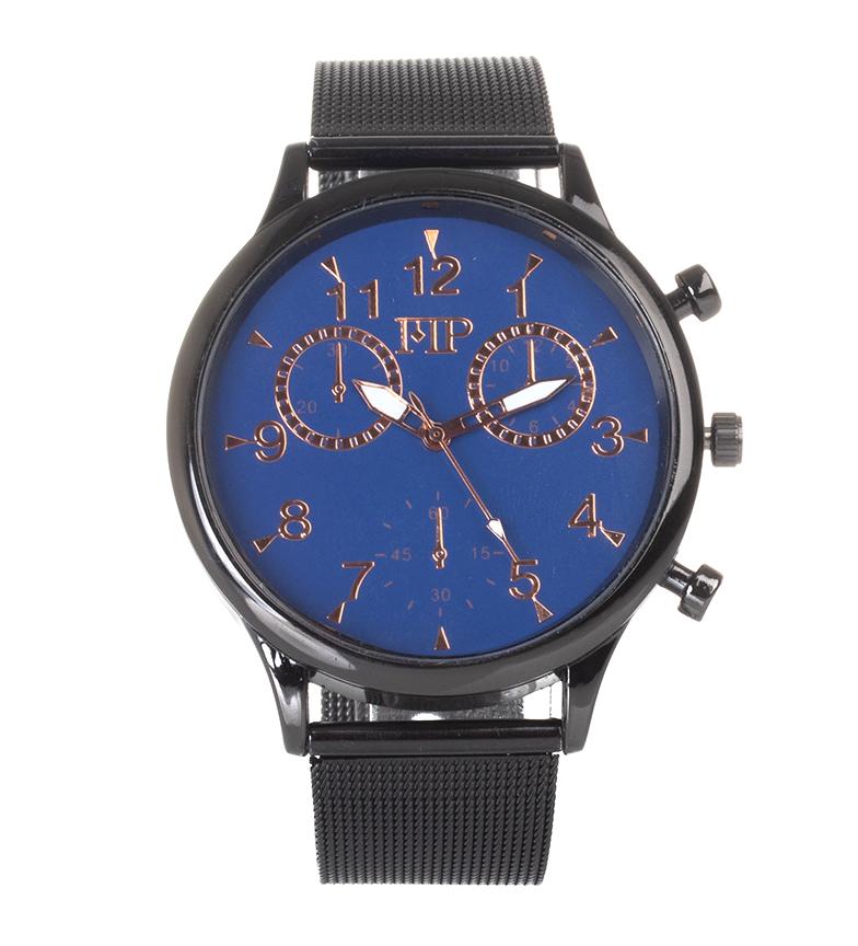 Comprar Marsan Piel Analog clock 9966 black, blue