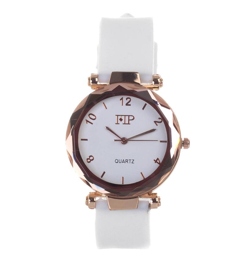 Comprar Marsan Piel Analog clock 9966 white
