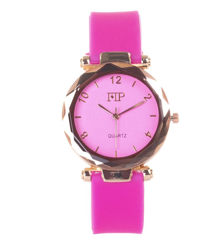 Comprar Marsan Piel Analog clock 9966 pink