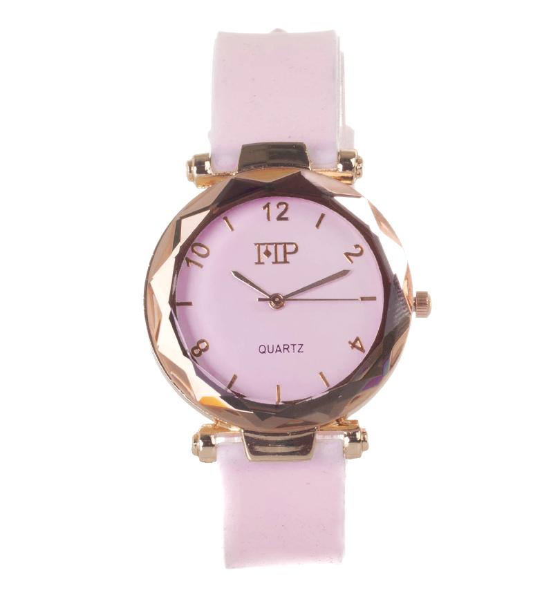 Comprar Marsan Piel Analog clock 9966 light pink