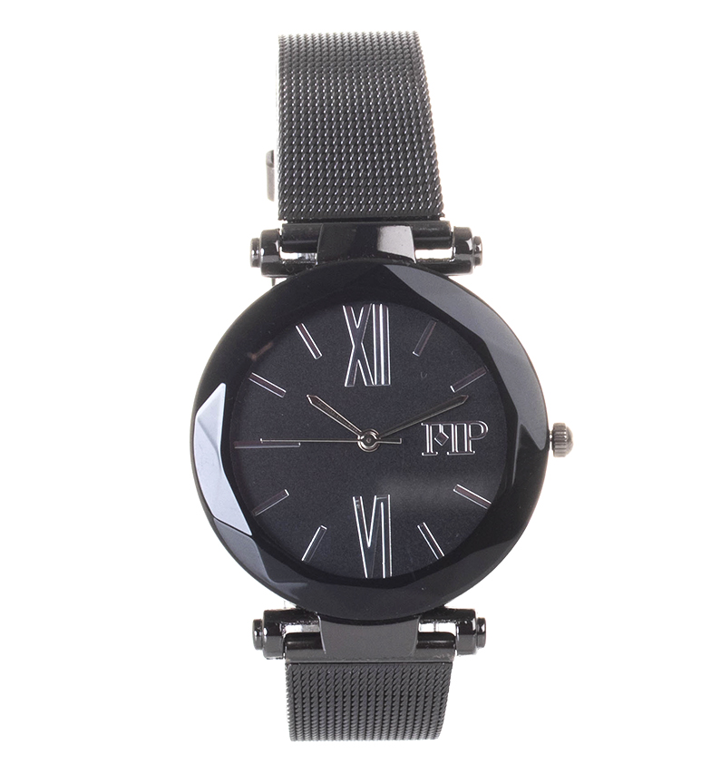 Comprar Marsan Piel Analog clock 9968 black