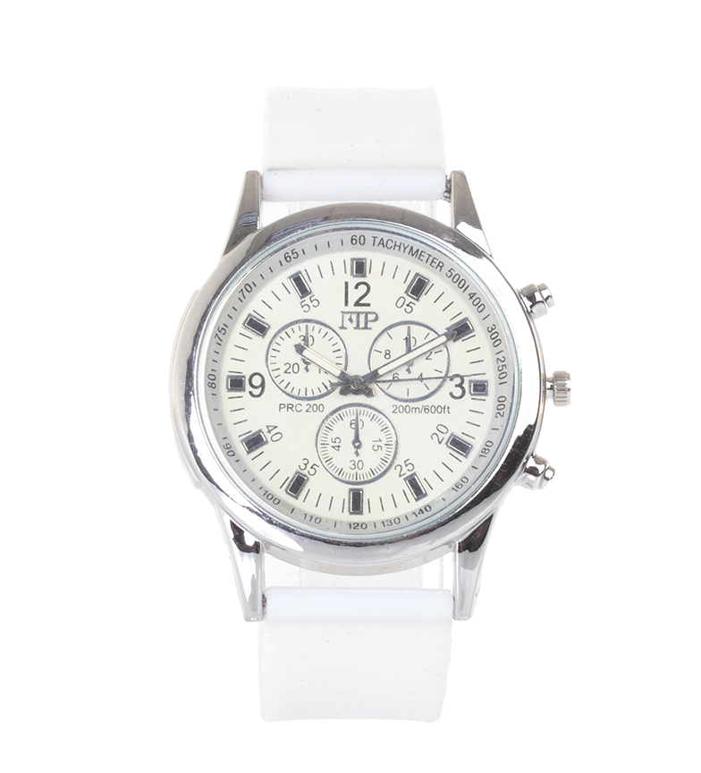 Comprar Marsan Piel Relógio analógico 9963 branco