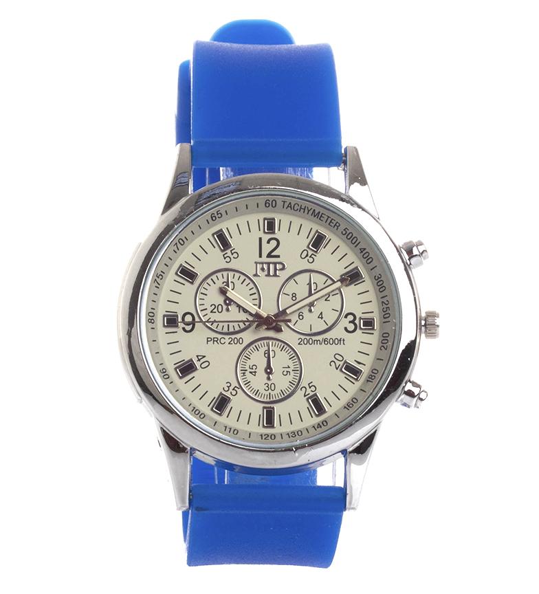 Comprar Marsan Piel Horloge analogique 9963 blanc, bleu