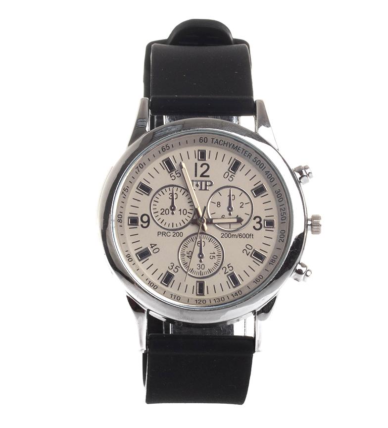 Comprar Marsan Piel Horloge analogique 9963 noir, blanc