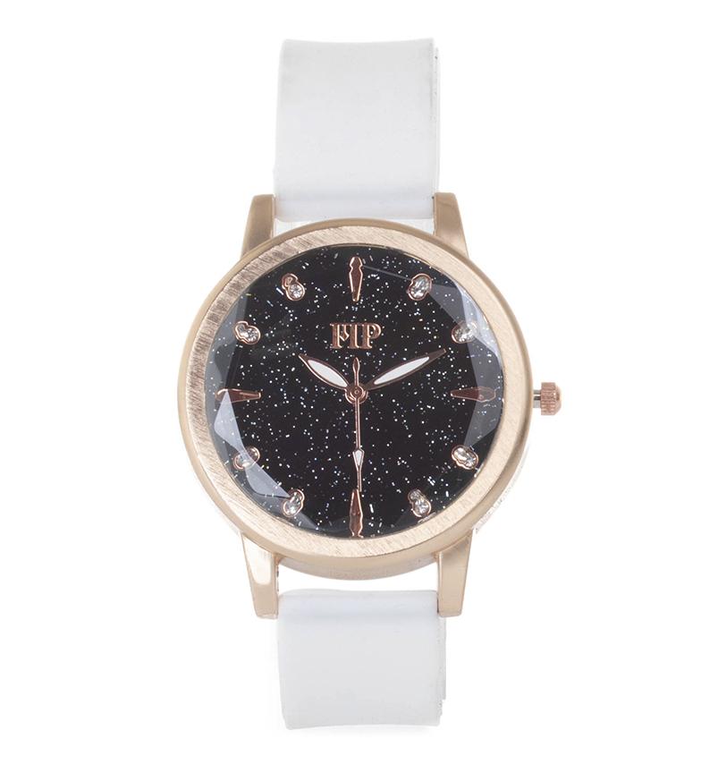 Comprar Marsan Piel Analog clock 9967 white