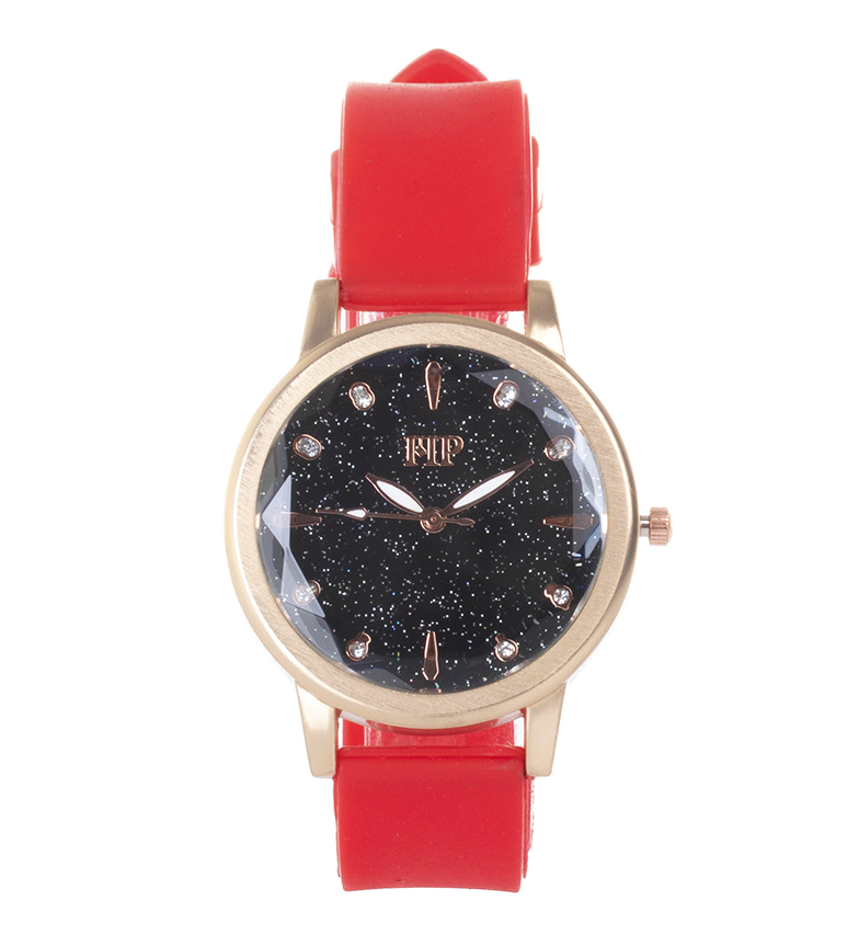 Comprar Marsan Piel Analogue clock 9967 red