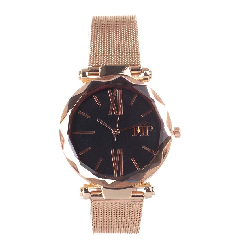 Comprar Marsan Piel Relógio analógico 9968 preto, cobre