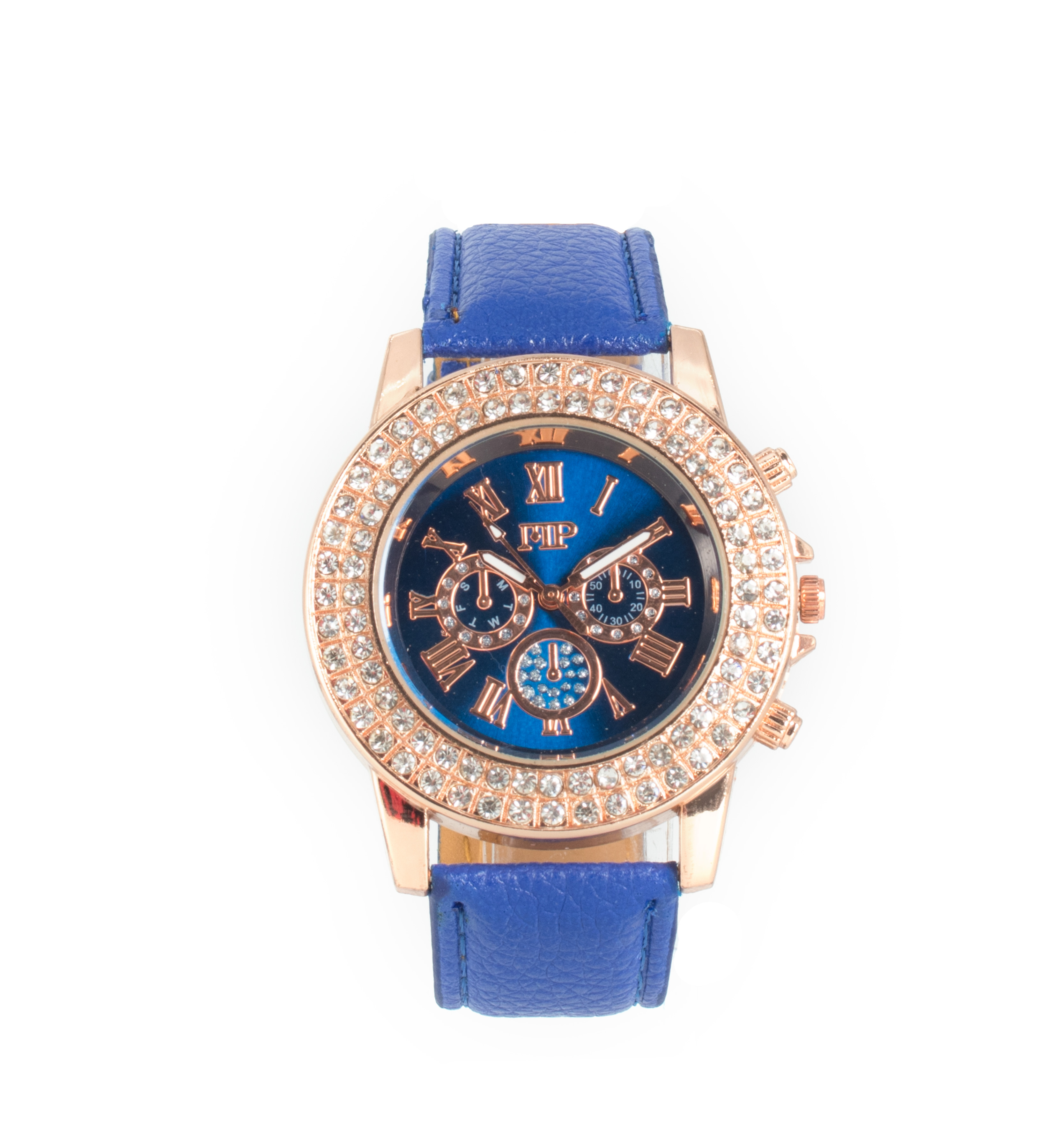 Comprar Marsan Piel Reloj analógico Asia azul