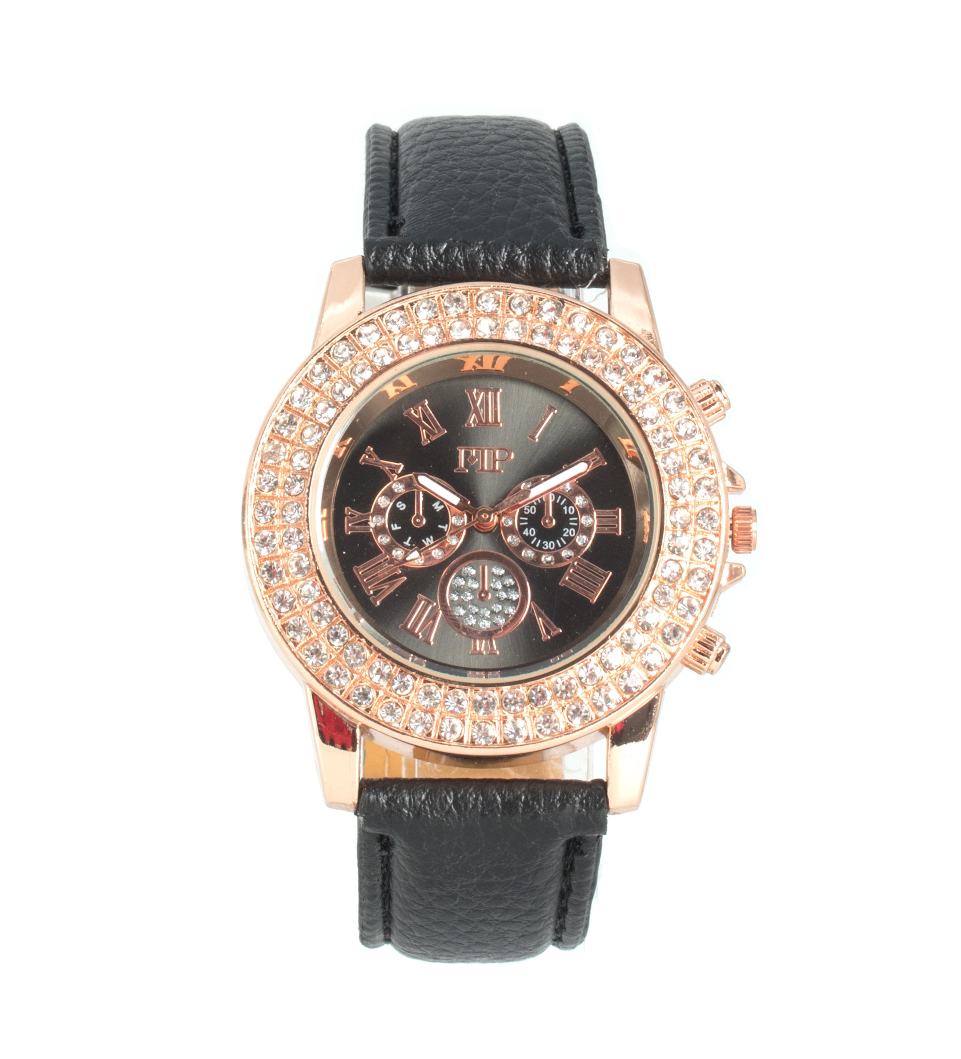 Comprar Marsan Piel Reloj analógico Asia negro