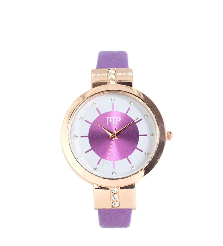 Comprar Marsan Piel Reloj analógico Breid morado
