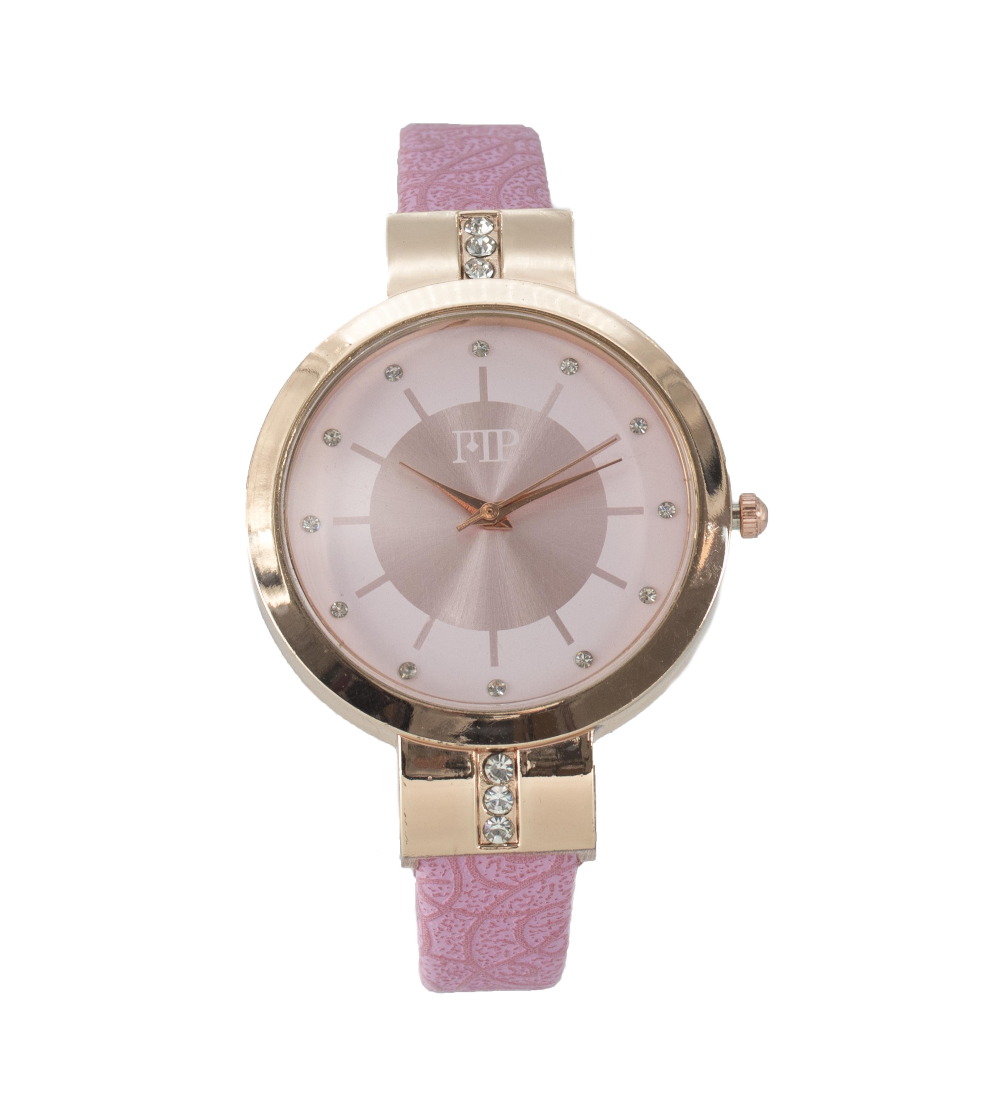 Comprar Marsan Piel Horloge analogique Breid rose