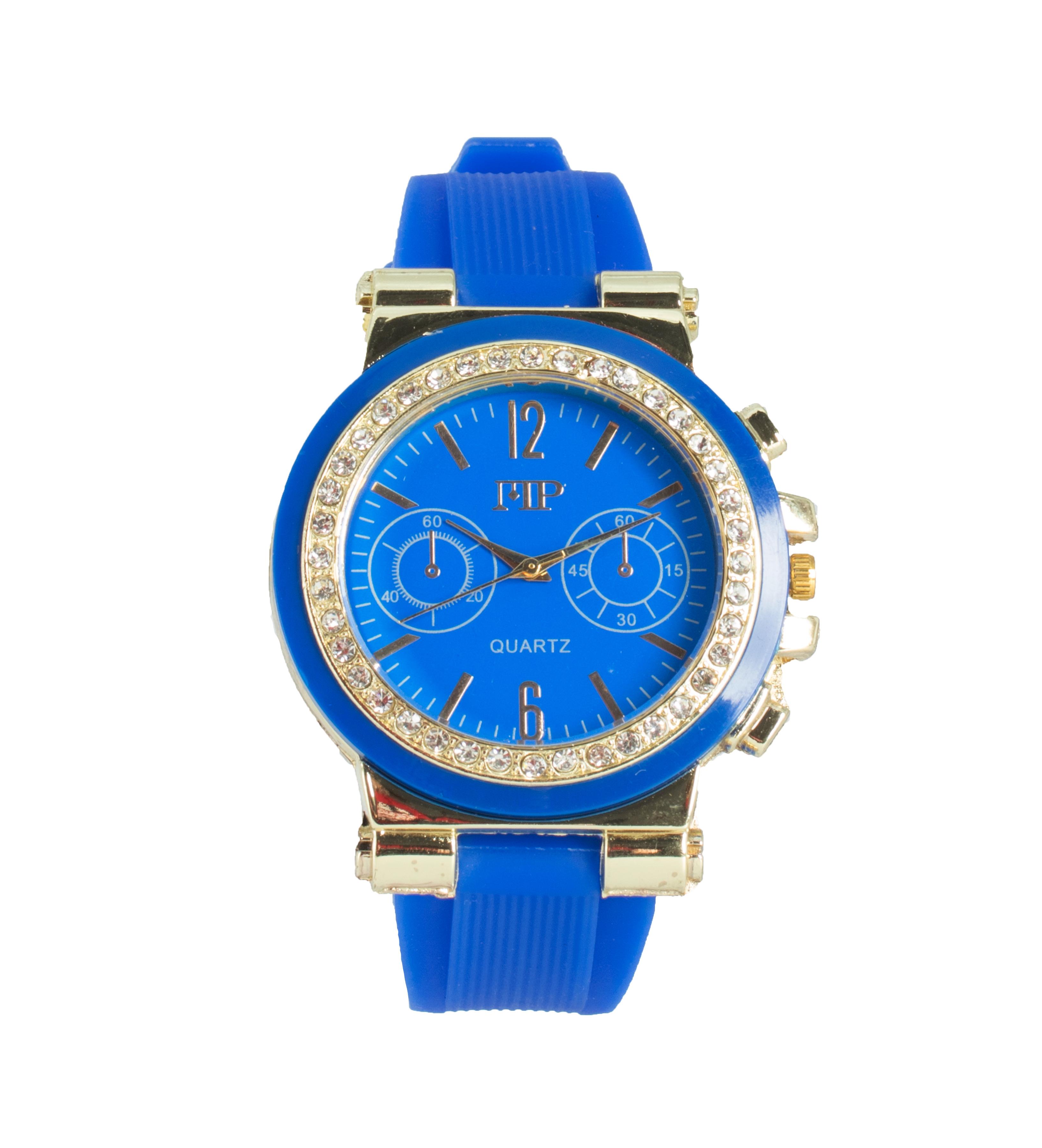 Comprar Marsan Piel Horloge analogique Bleu Cox