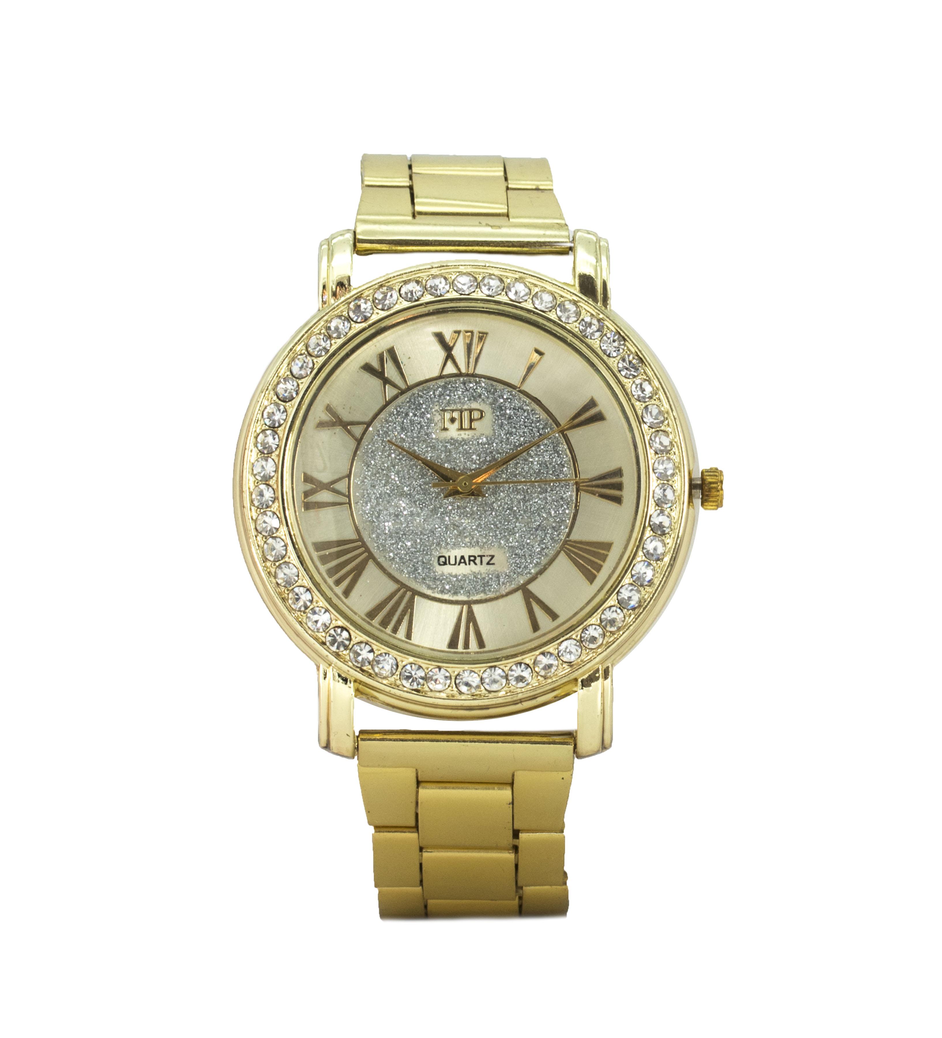 Comprar Marsan Piel Reloj analógico Gari oro