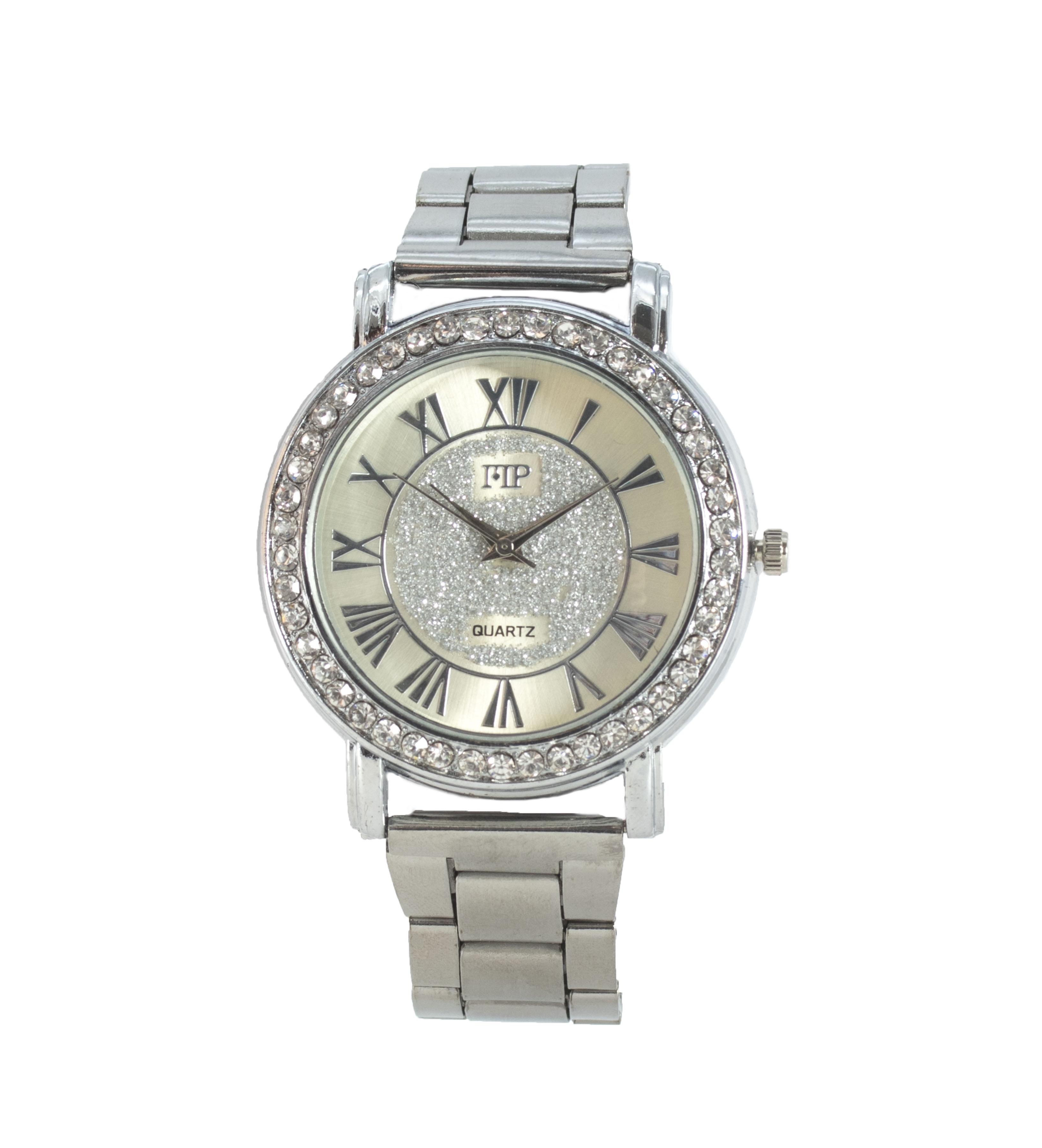 Comprar Marsan Piel Analog clock Gari silver